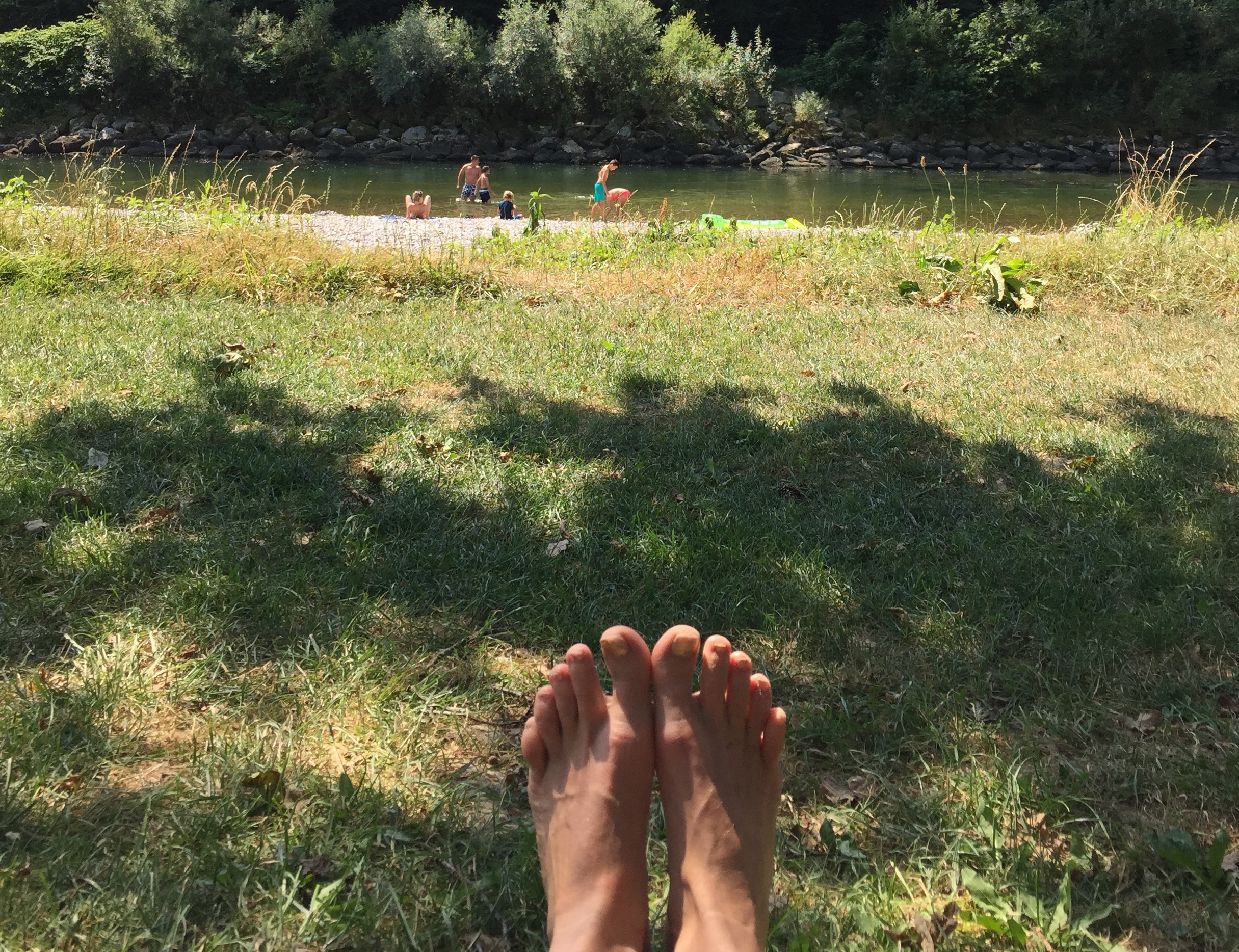 Grounded with bare foot_www.esthersviewpoint.com