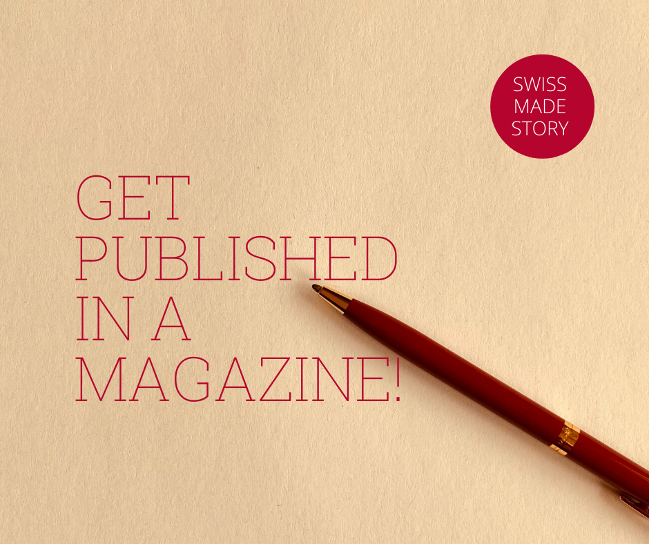 When participating in this program Finding Joy in Writing, you'll get the possibility to get published in an international magazine.