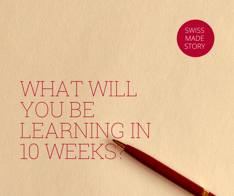 You will be learning in ten weeks how to find joy in writing and how to create amazing texts.