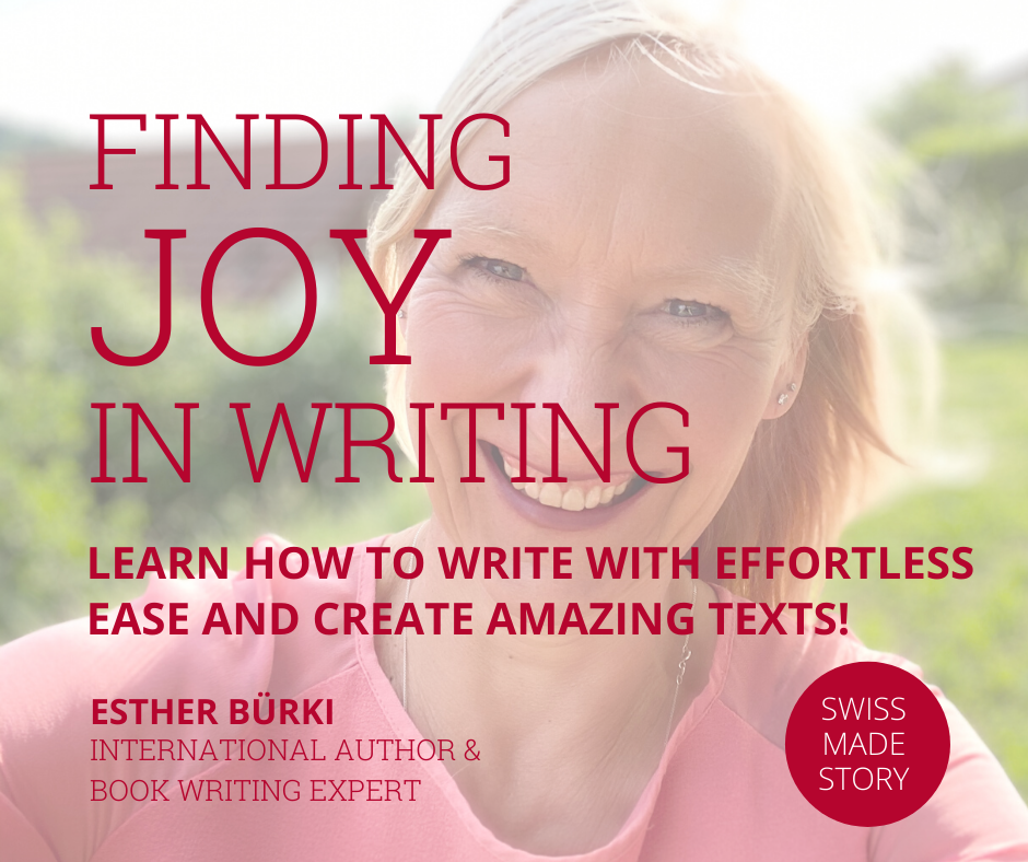 Finding Joy in Writing with the Group Writing Program by Esther Buerki